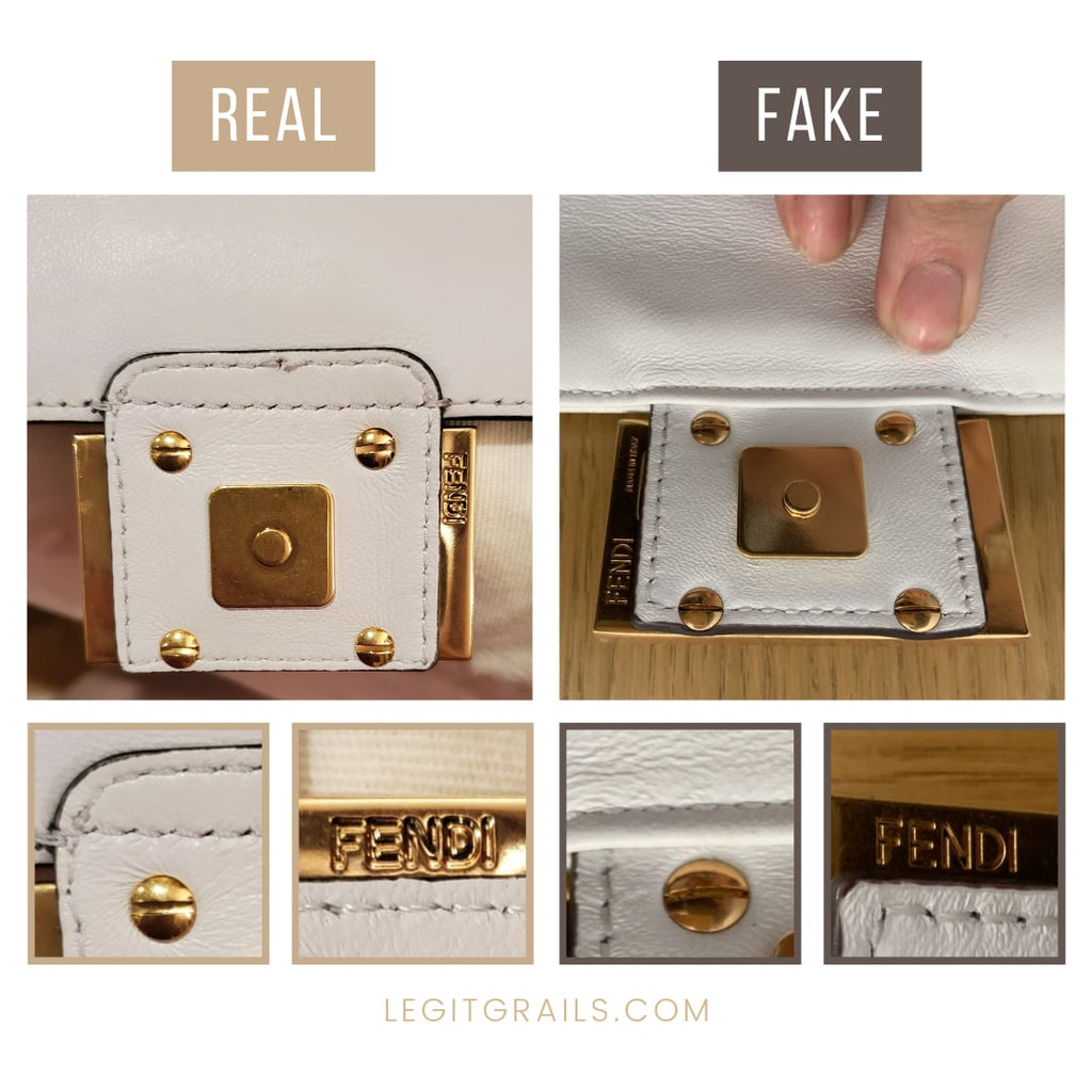 Fendi Baguette Bag Real Vs Fake