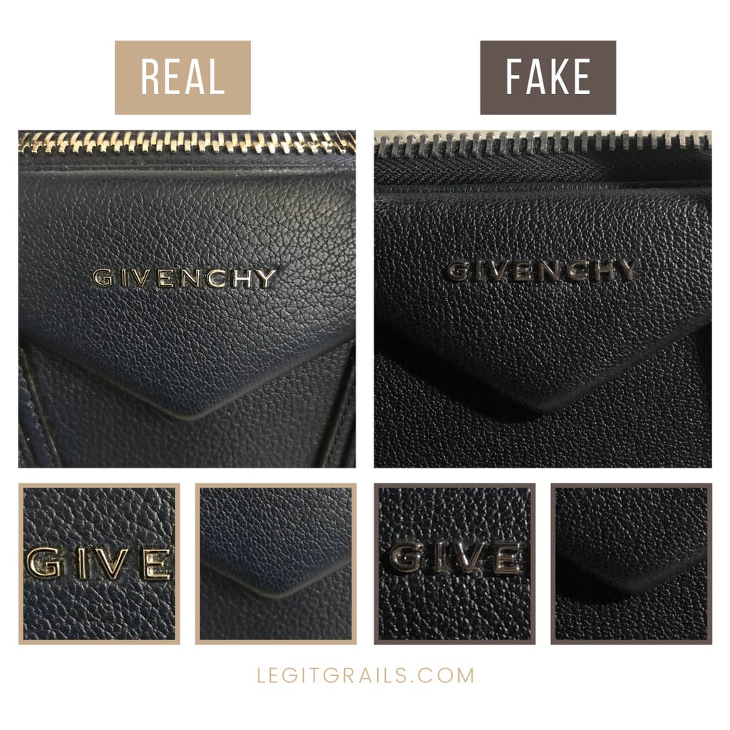 Givenchy Antigona Bag Real VS Fake