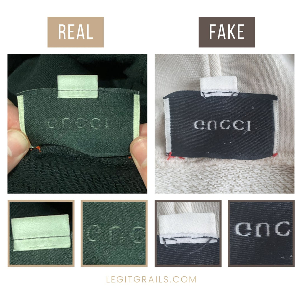 How To Authenticate Gucci Interlocking G Hoodie