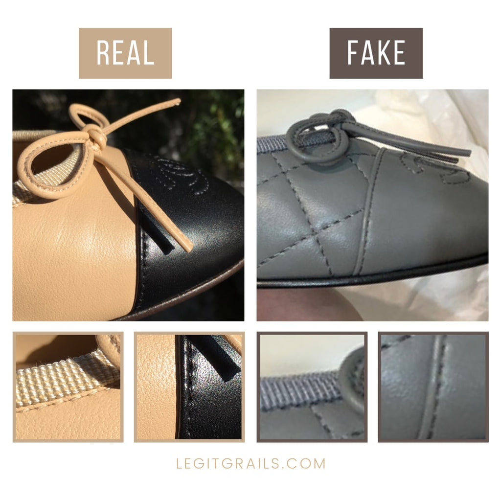 How To Legit Check Chanel Ballet Flats