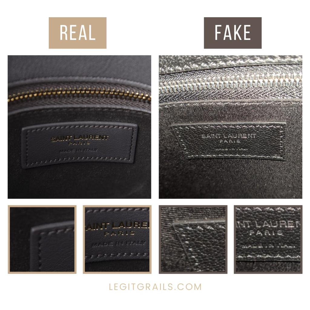 How To Legit Check Saint Laurent Sac De Jour Bag
