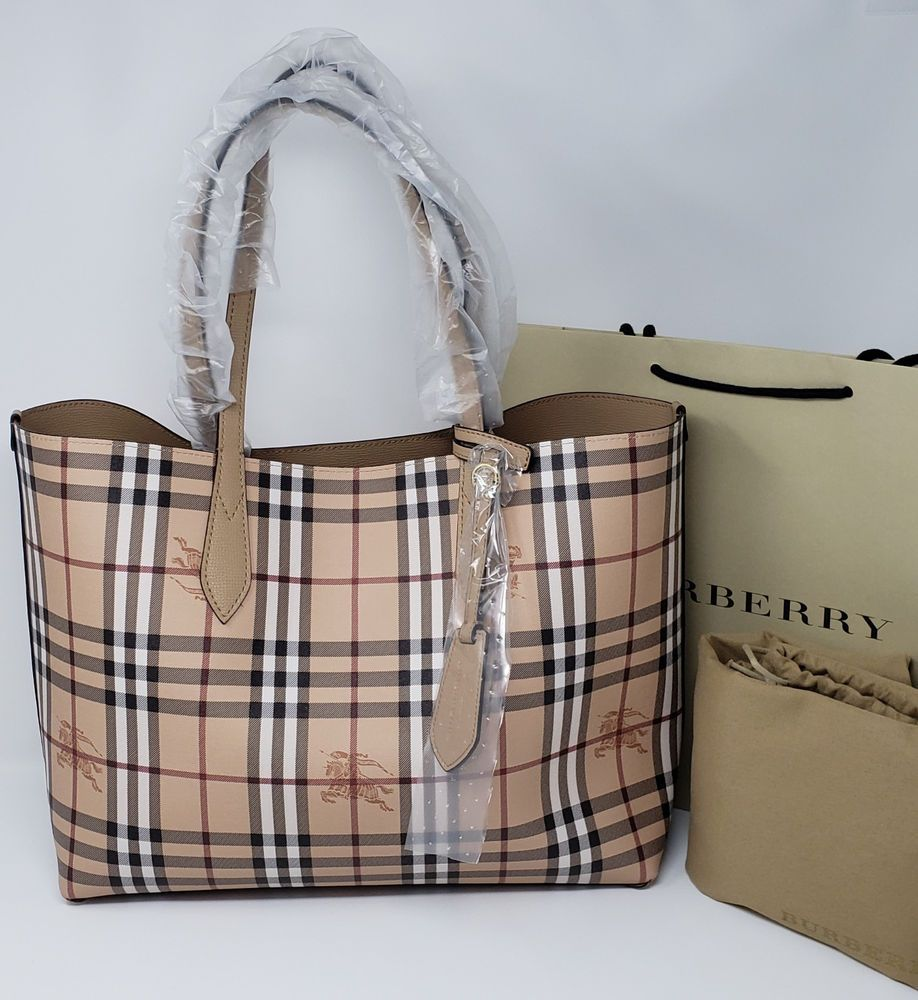 How To Spot Fake Burberry Lavenby Reversible Tote