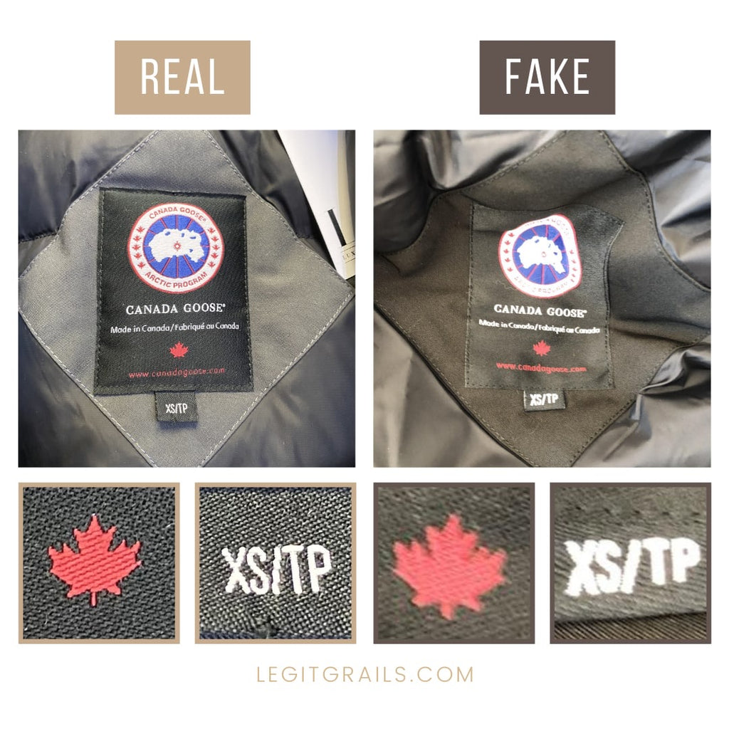 How To Spot Fake Canada Goose Jacket