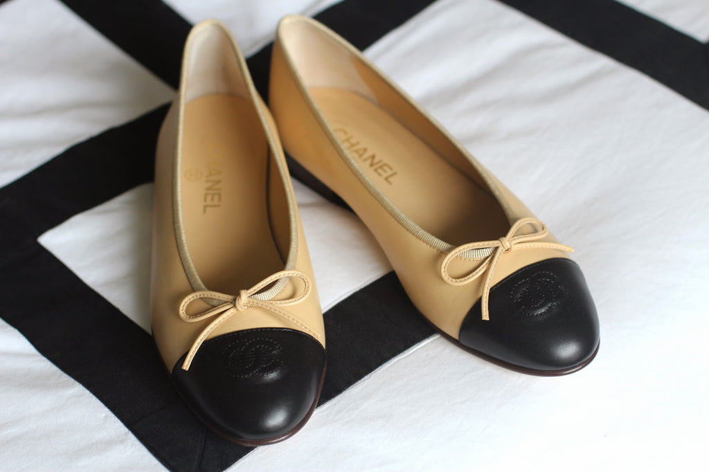 How To Spot Fake Chanel Ballet Flats