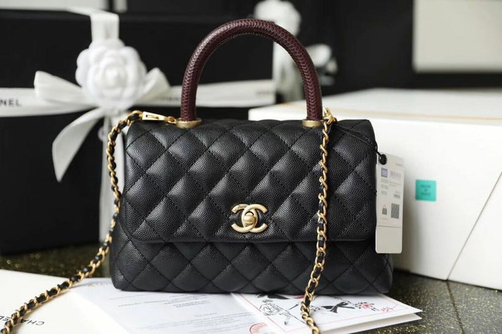 How To Spot Fake Chanel Coco Handle Bag