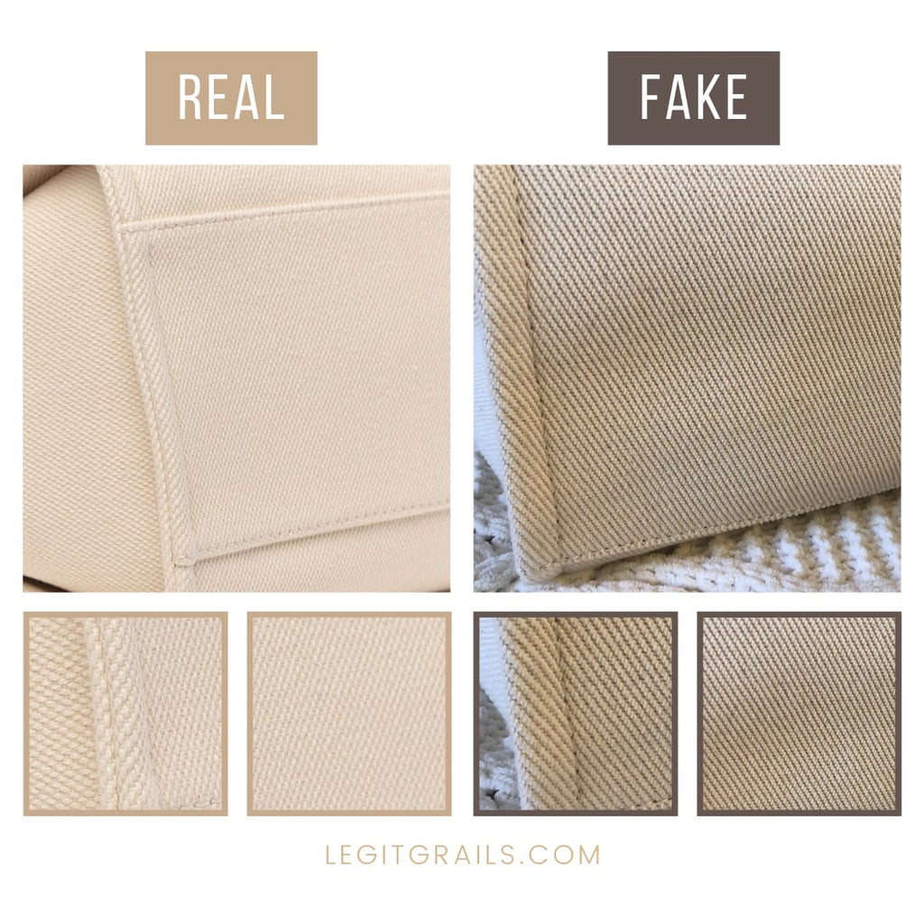 How To Spot Fake Chanel Deauville Pearl Tote Bag