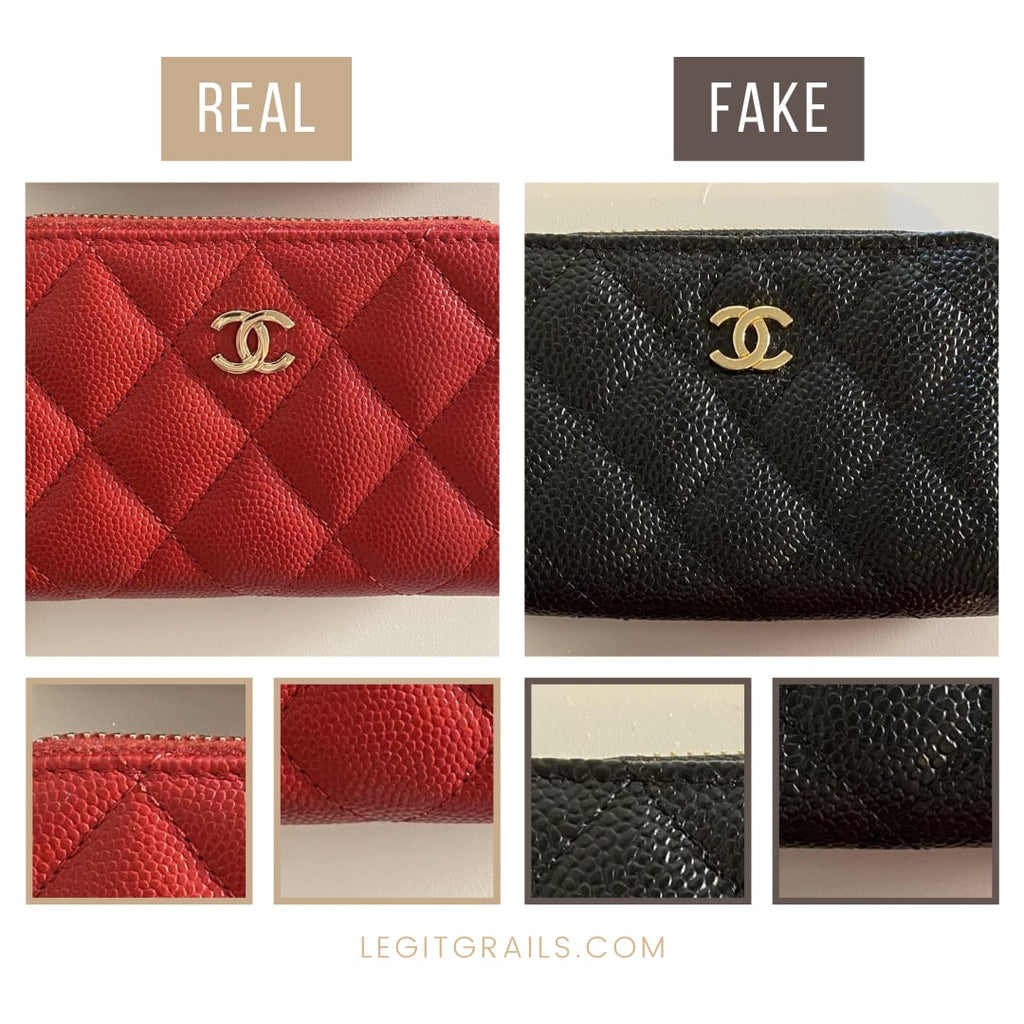 How To Spot Fake Chanel Wallet