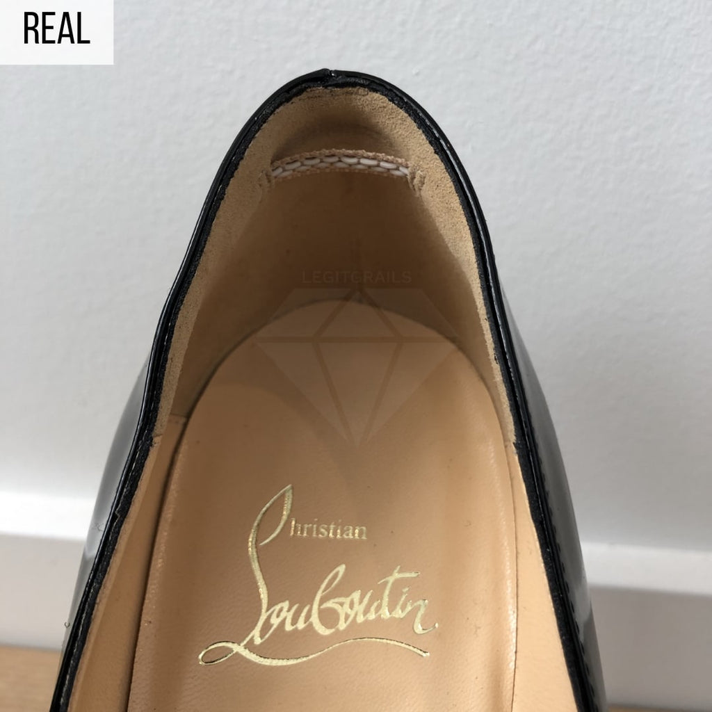 How To Spot Fake Christian Louboutin Pigalle Shoes