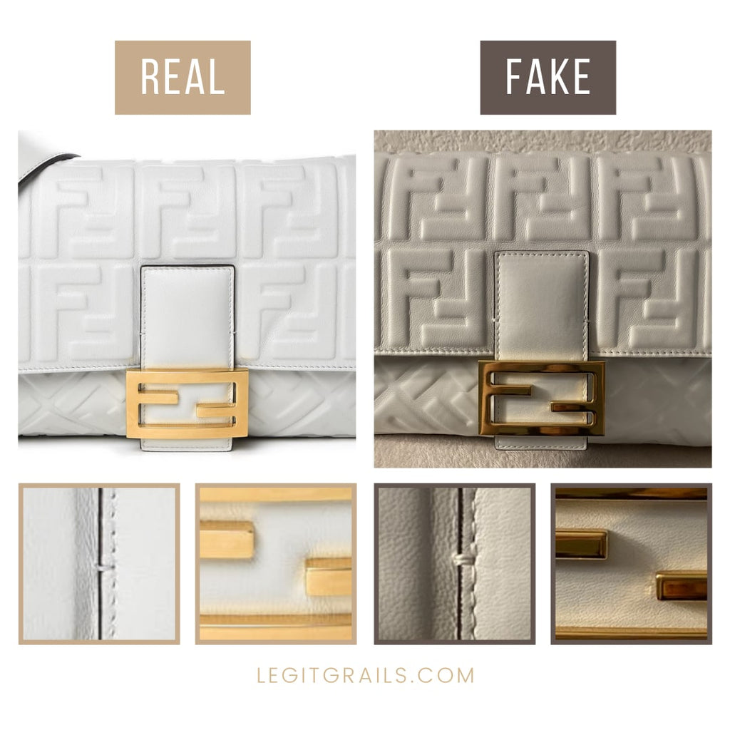 How To Spot Fake Fendi Baguette Bag