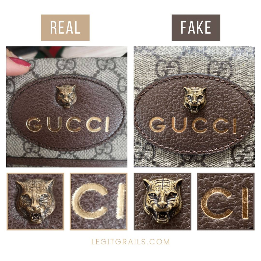 How To Spot Fake Gucci Bag