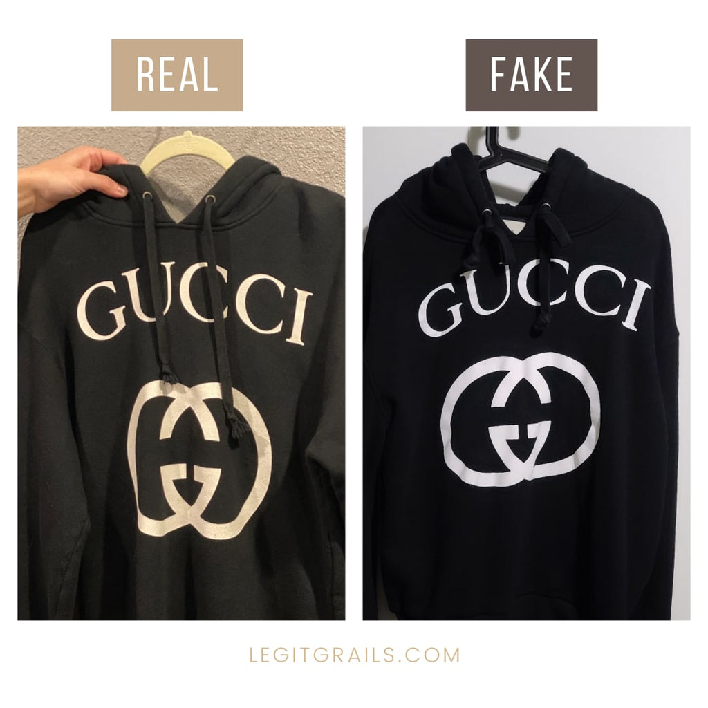 How To Spot Fake Gucci Hoodies