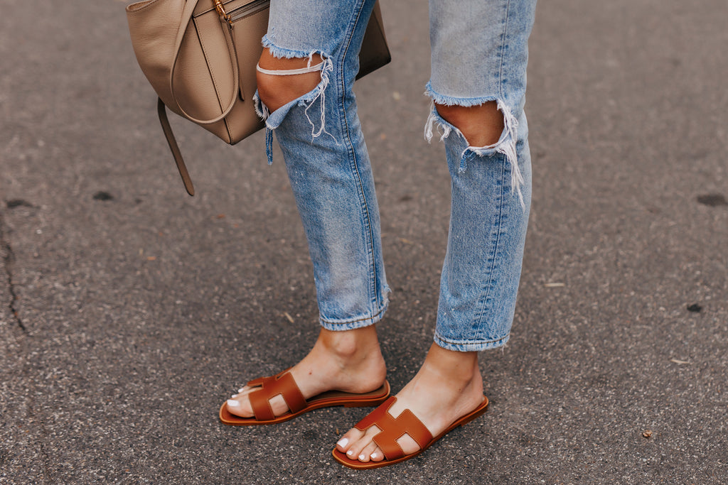 How To Spot Fake Hermes Oran Sandals