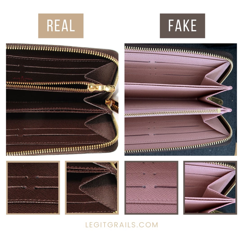 How To Spot Fake Louis Vuitton Wallet