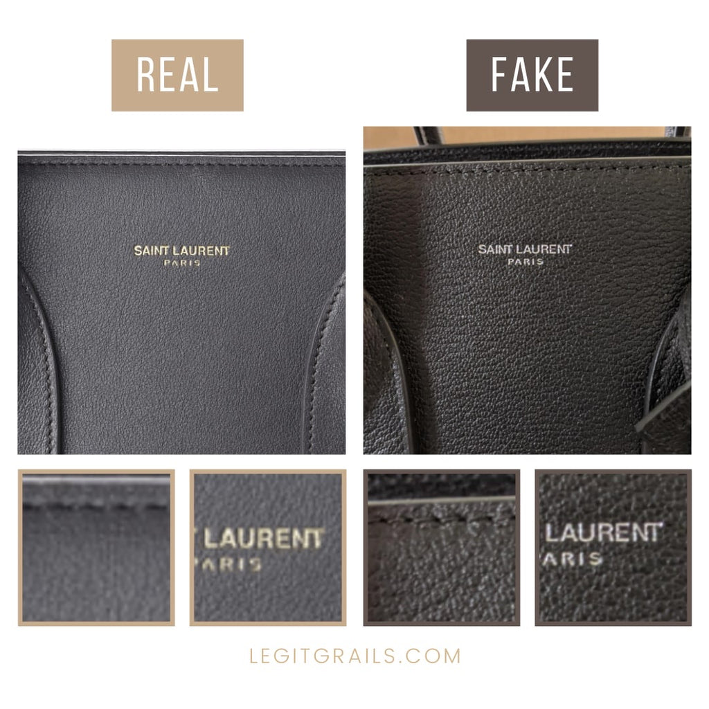 How To Spot Fake Saint Laurent Sac De Jour Bag