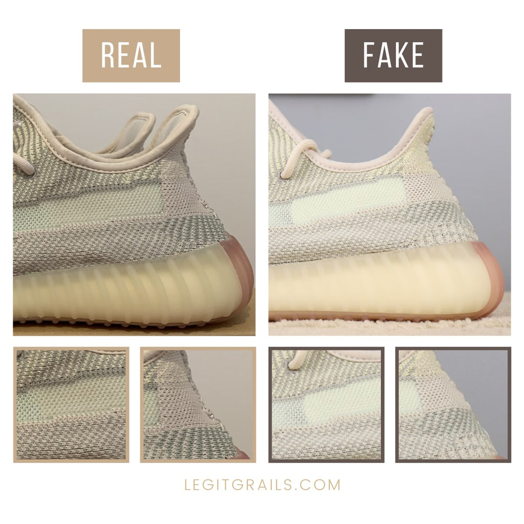 How To Spot Real Vs Fake Adidas Yeezy Boost 350 V2 – LegitGrails