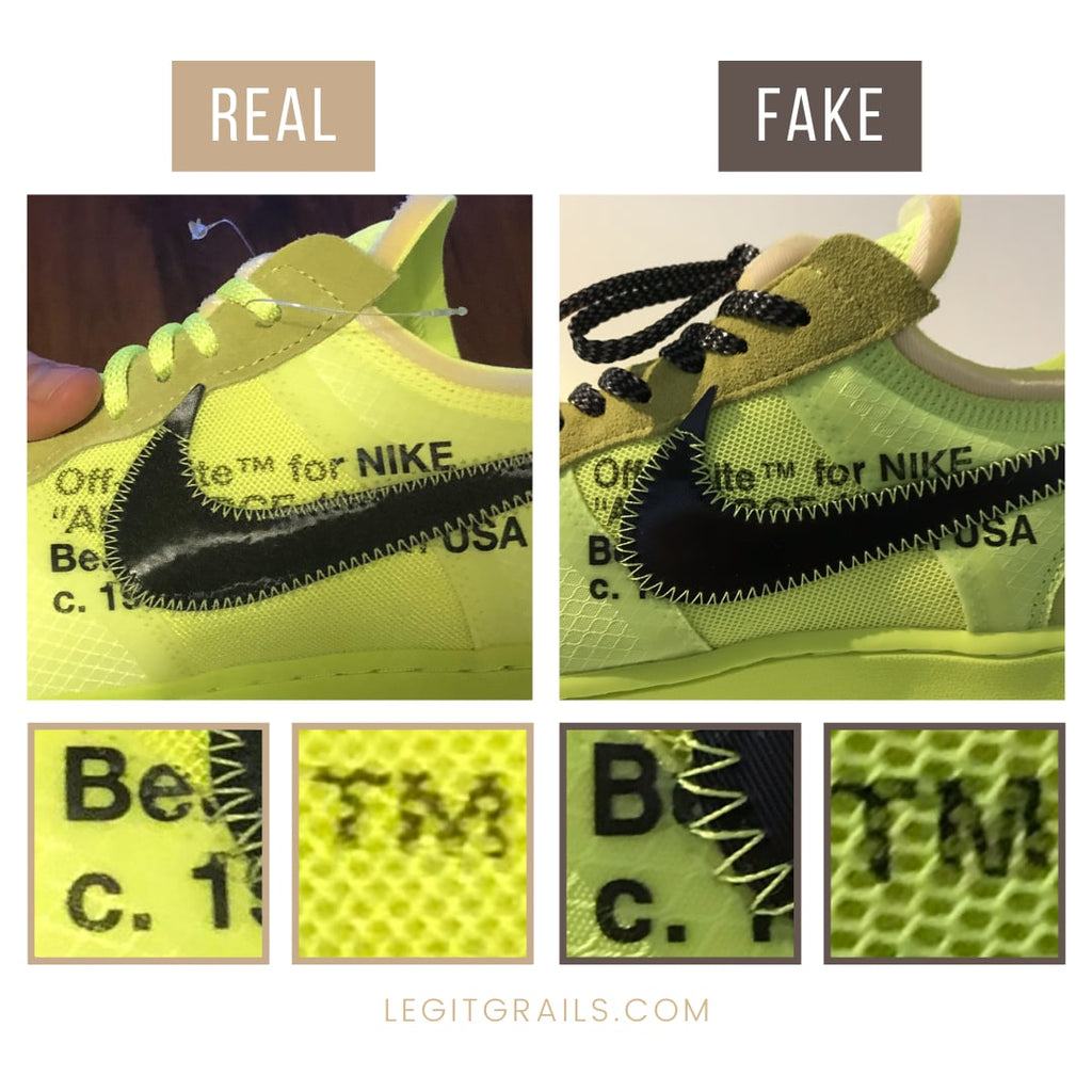 How To Spot Real Air Force 1 Off White Volts