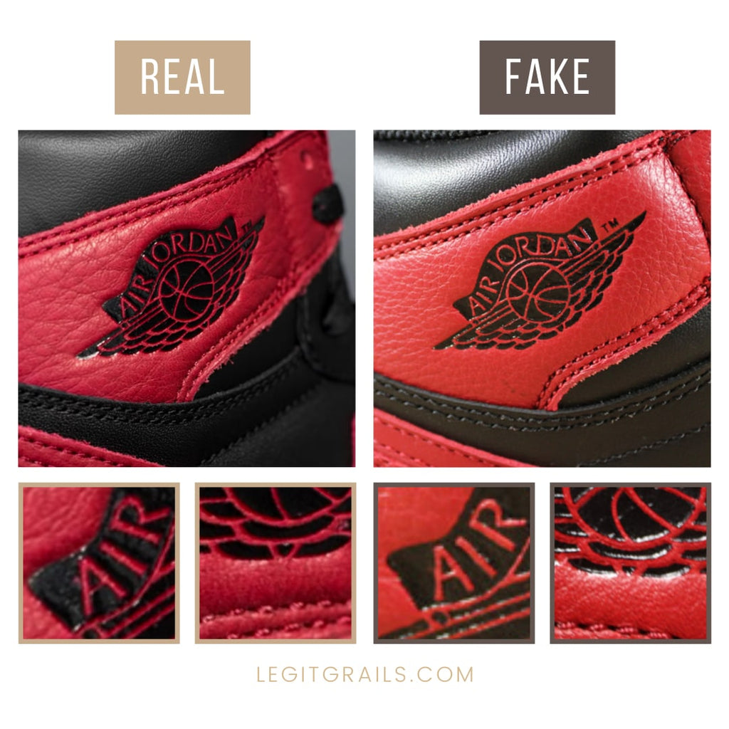 How To Spot Real Jordan 1 Bred
