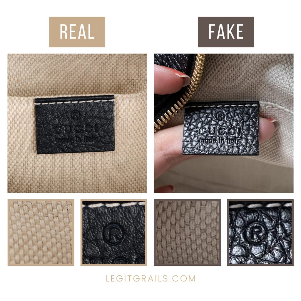 How To Tell Gucci Soho Disco Bag Is Fake
