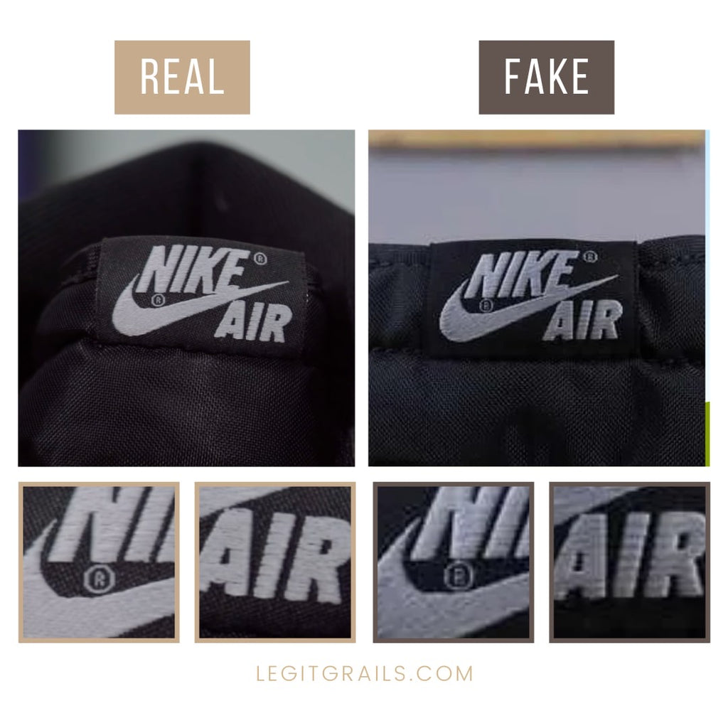 How To Tell If Air Jordan 1 Shadow 2.0 Sneakers Are Fake