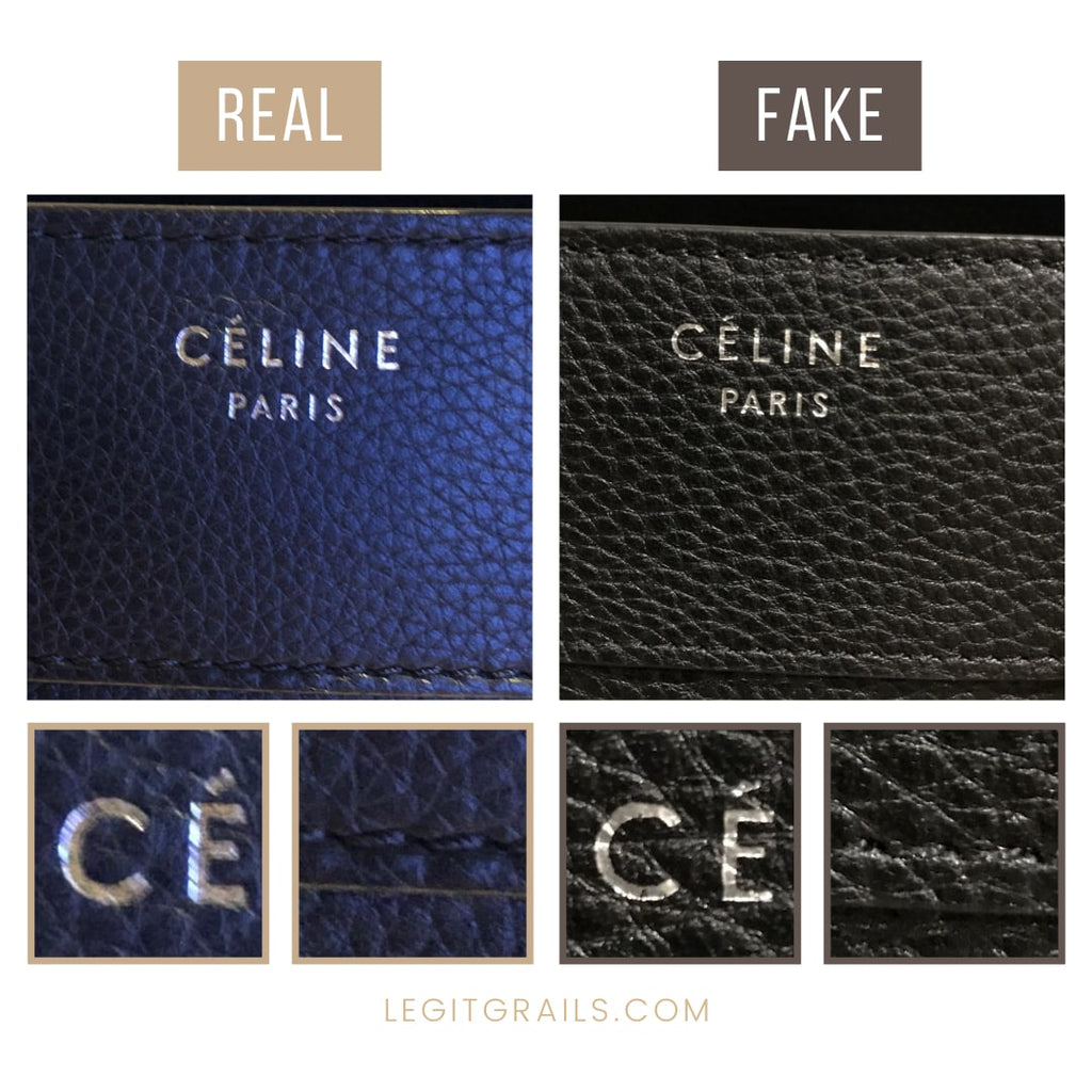 How To Tell If Celine Luggage Bag Is Fake