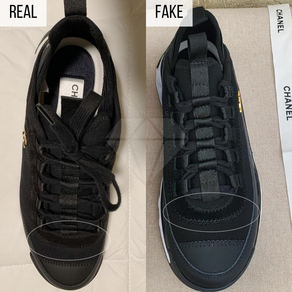 How To Tell If Chanel 2020 Cruise Low-Top Sneakers Are Fake