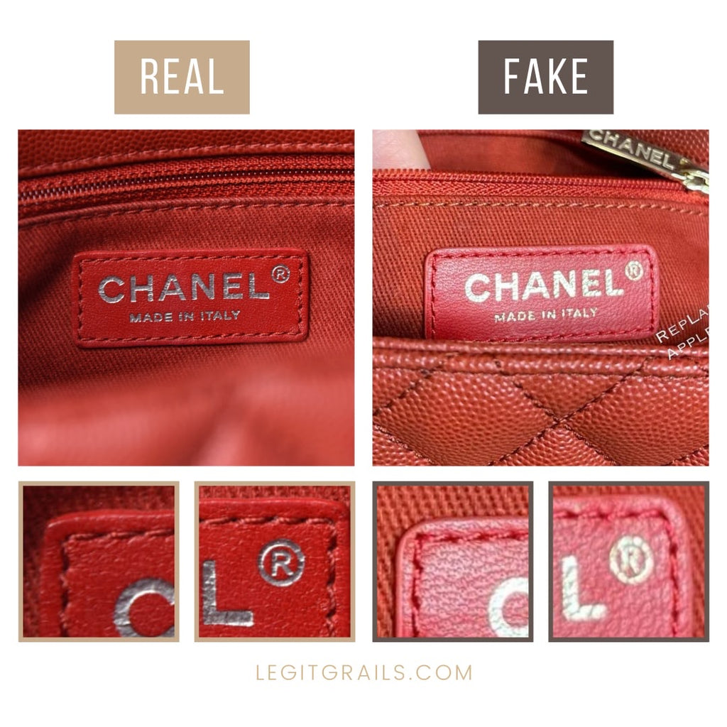 How To Tell If Chanel Coco Handle Bag Is Fake