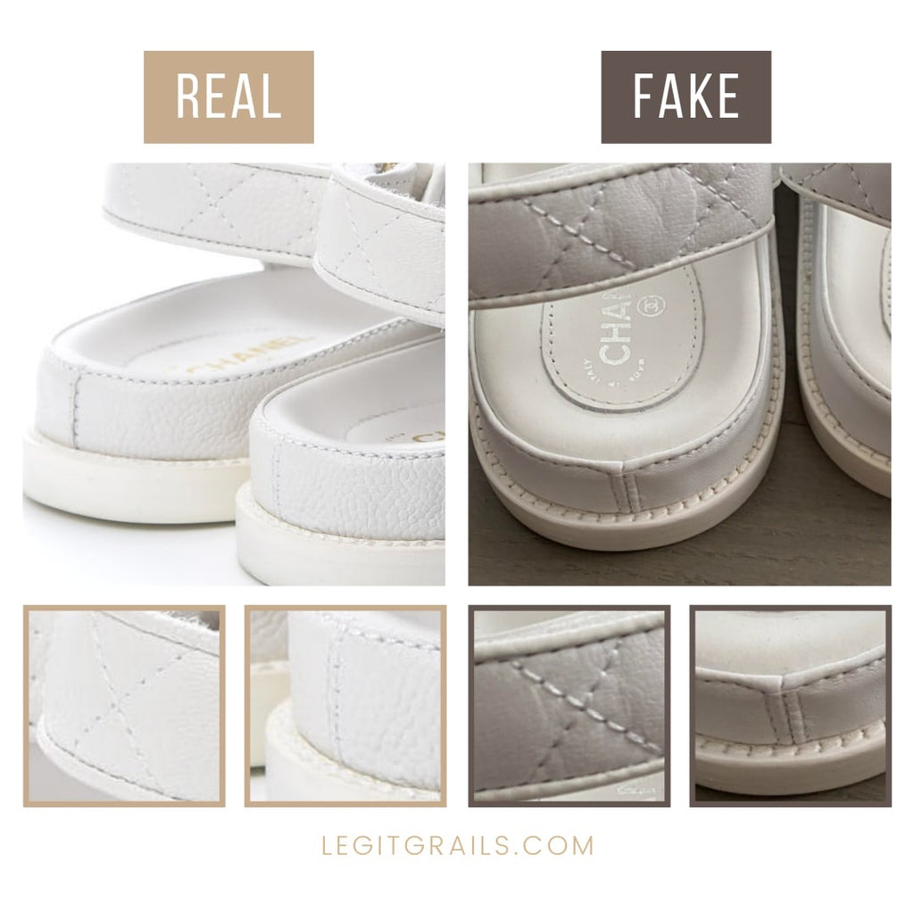 How To Tell If Chanel Dad Sandals Is Fake
