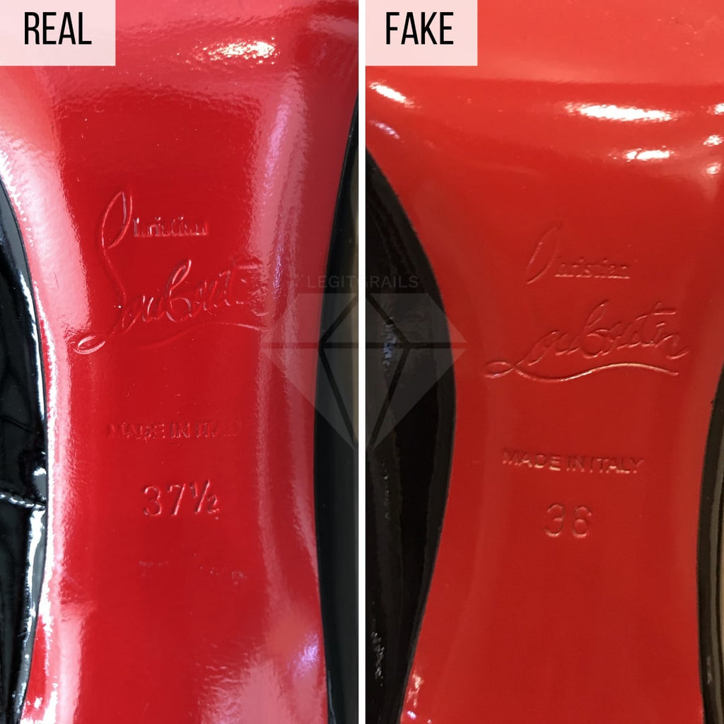 How To Tell If Christian Louboutin Pigalles Are Fake
