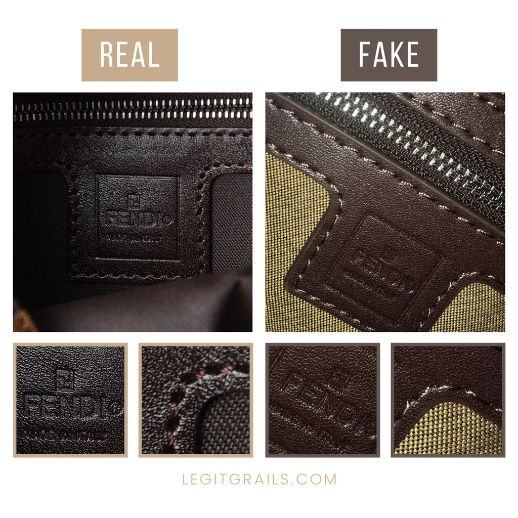 How To Tell If Fendi Zucca Baguette Bag Is Fake