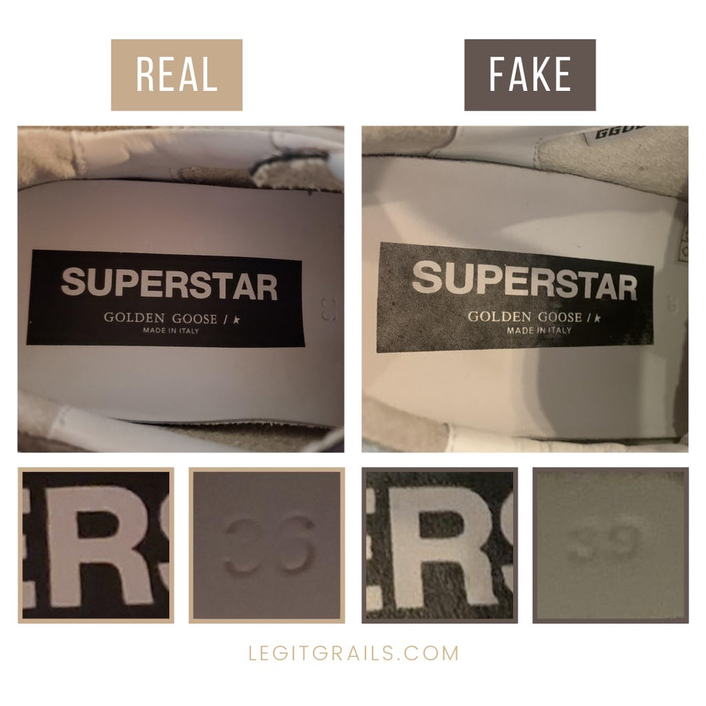 How To Tell If Golden Goose Super-Star Sneakers Is Fake