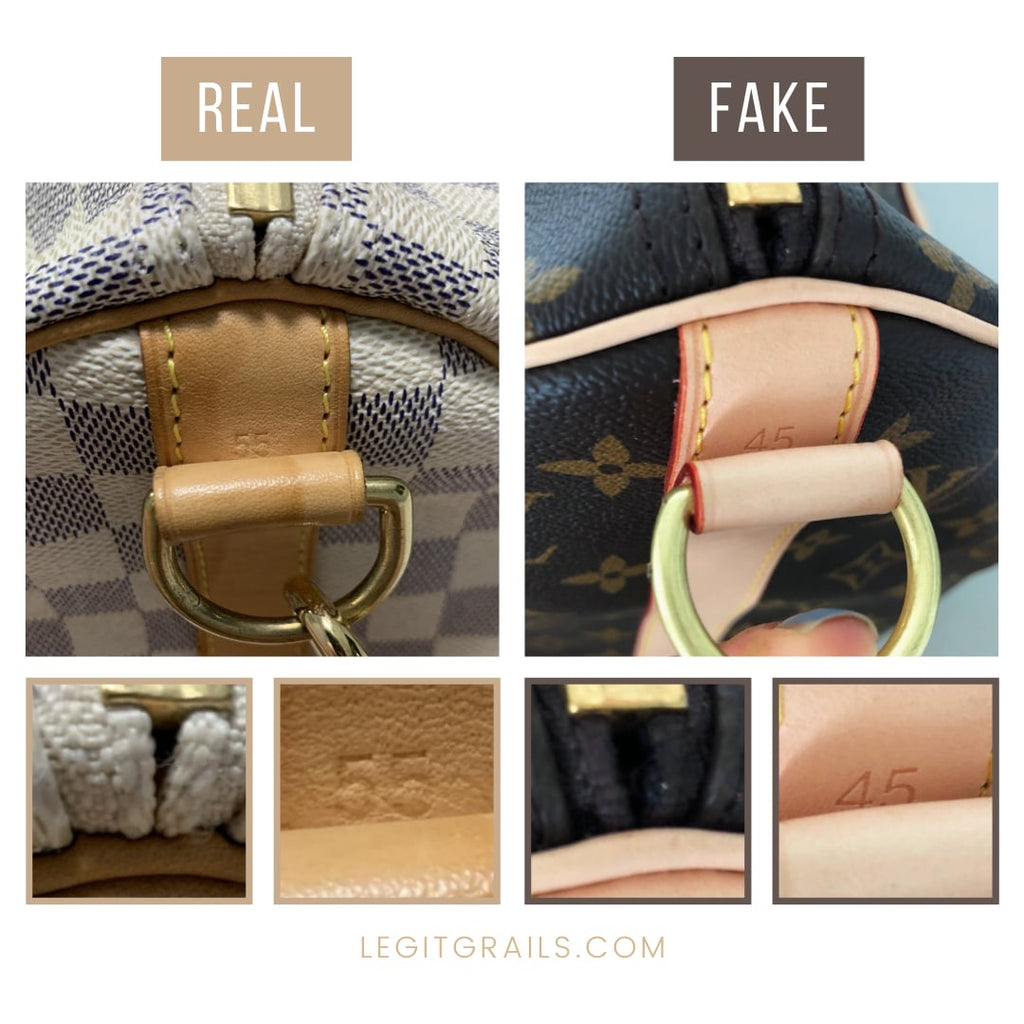How To Tell If Louis Vuitton Keepall 55 Bag Is Fake
