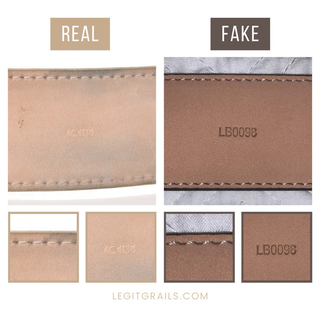 How To Tell If Louis Vuitton belt LV Initiales Is Fake