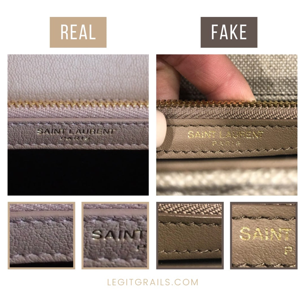 How To Tell If Saint Laurent College Bag Is Fake