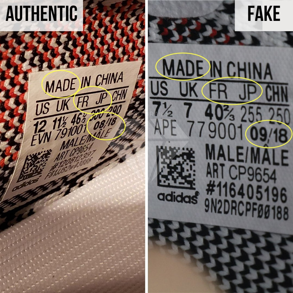 How To Tell If Yeezy 350 V2 Zebra Is Fake