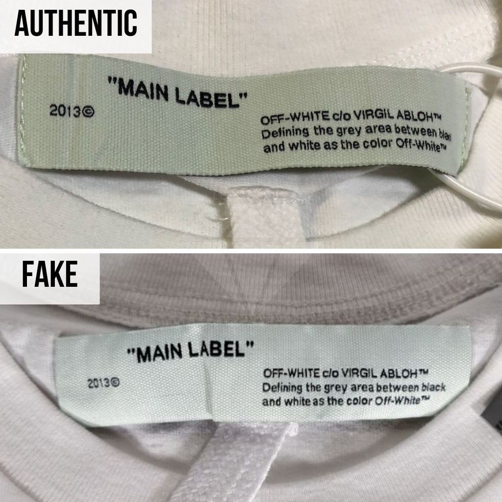 How to Authenticate Off-White Tee