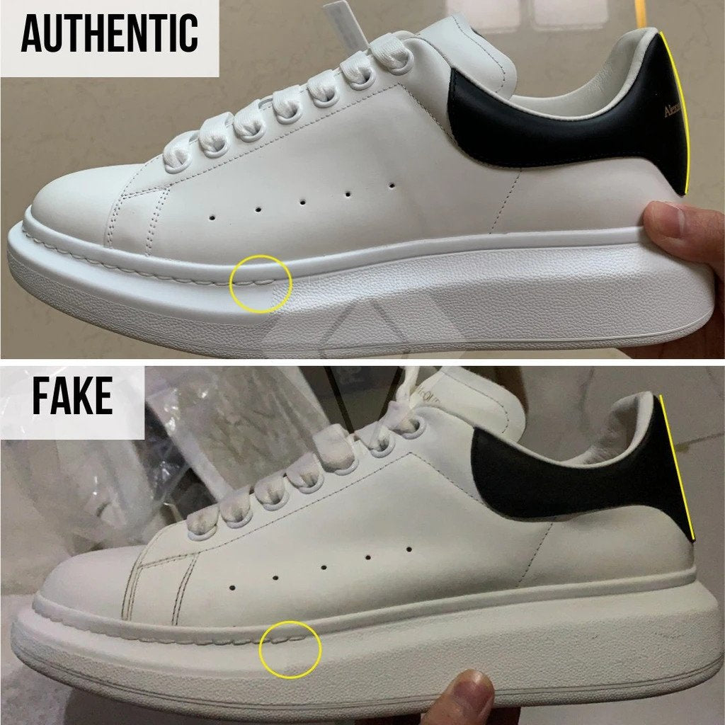 How to Spot Fake Alexander McQueen Oversized sneakers - Alexander McQueen Sneakers Legit Check