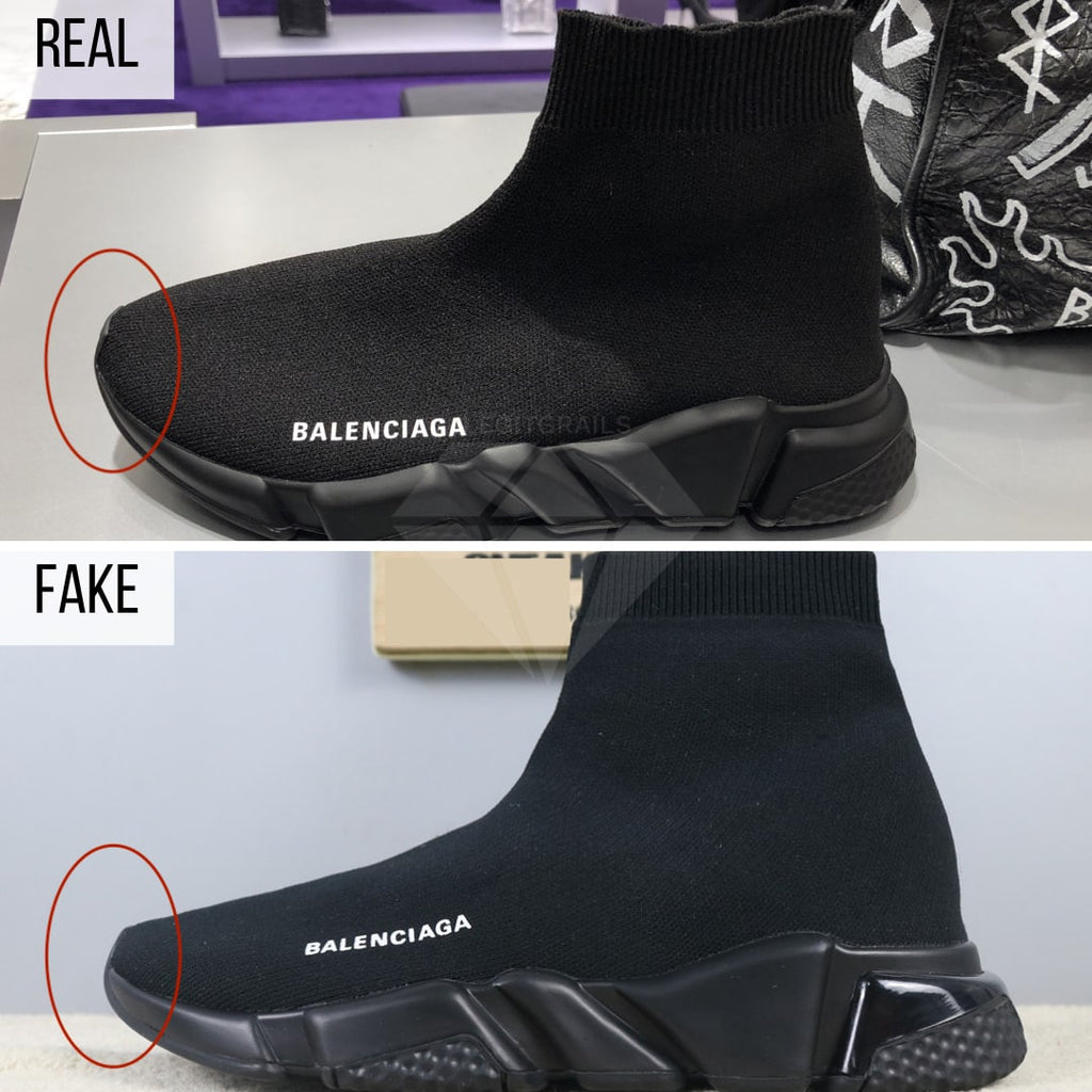 How to Spot Fake Balenciaga Speed Trainers - legit check Balenciaga Speed Trainers