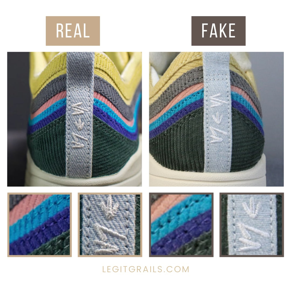 How to Spot Real Air Max 1/97 Sean Wotherspoon