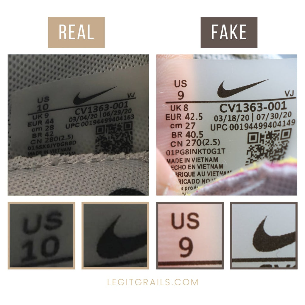 How to Verify Nike VaporWaffle