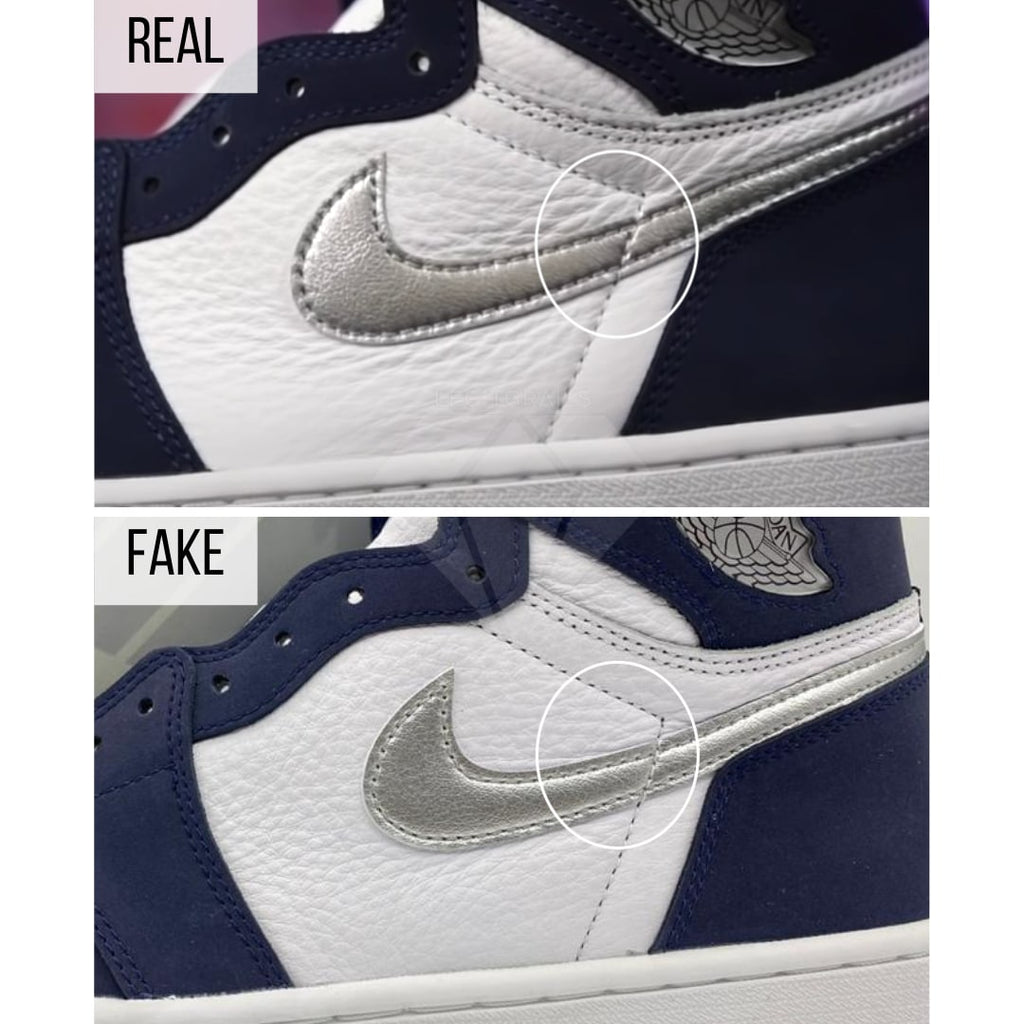How to authenticate Jordan 1 CO JP