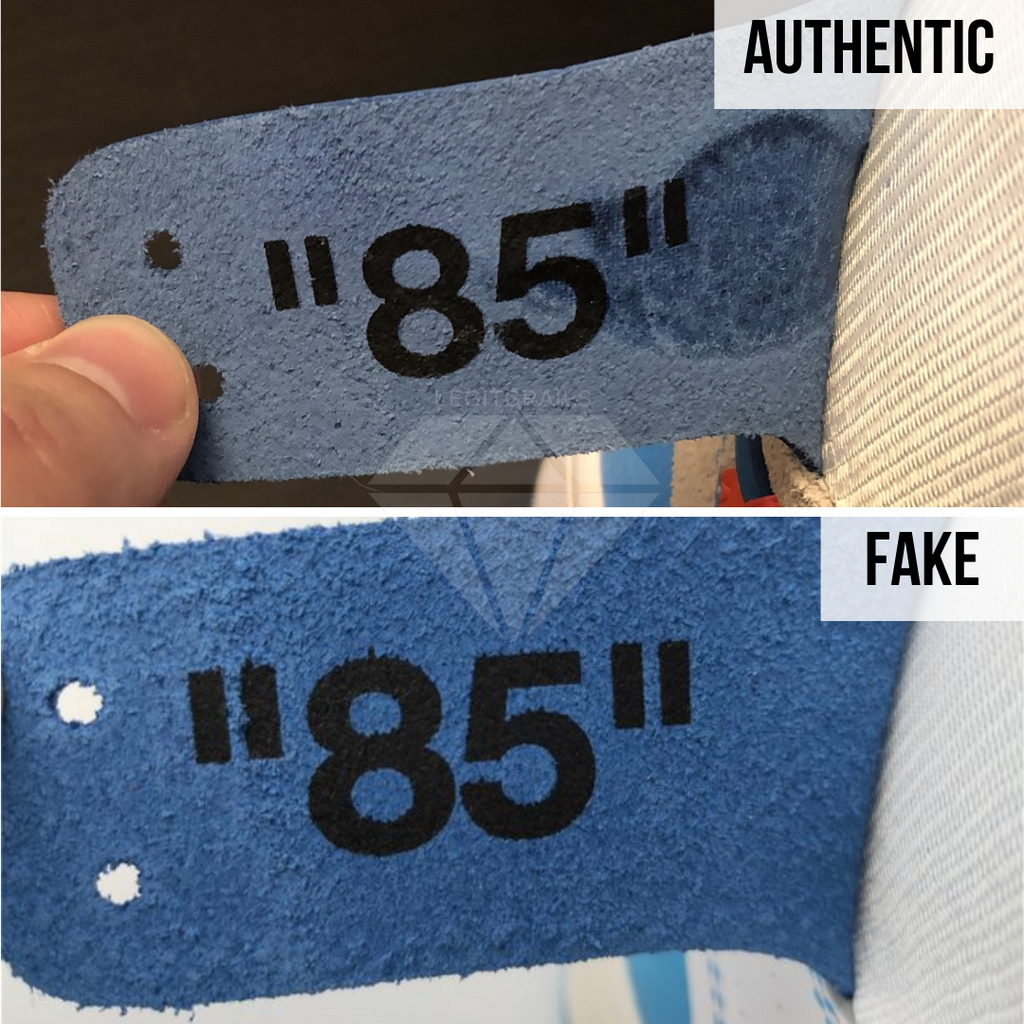 How to authenticate Off-White Jordan 1 UNC
