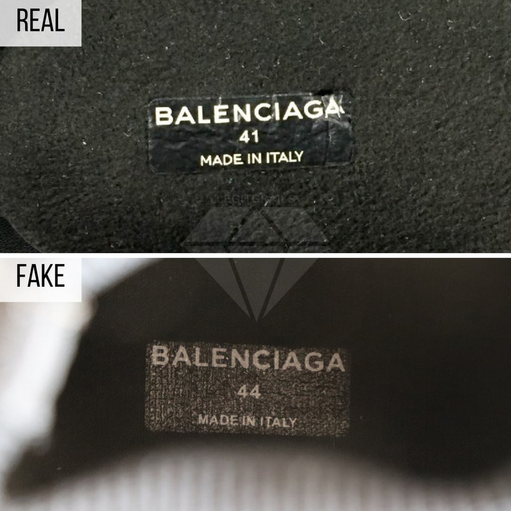 How to legit check Balenciaga Speed trainers