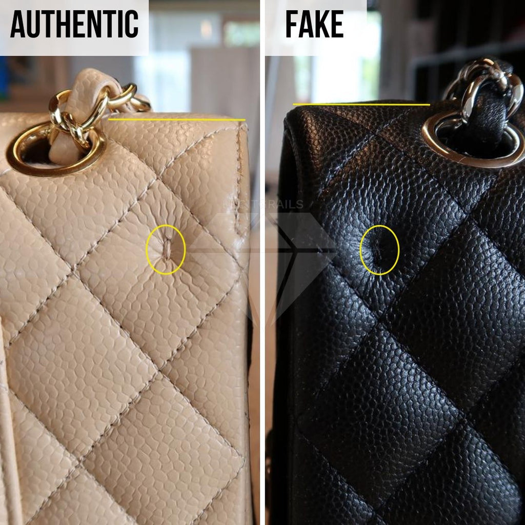 How To Legit Check Chanel Classic Bag: The Measurement Method