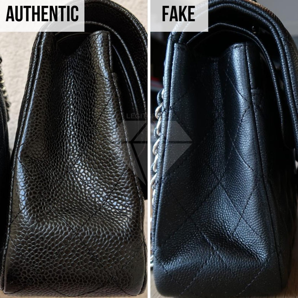 How To Legit Check Chanel Classic Bag: The Side Method
