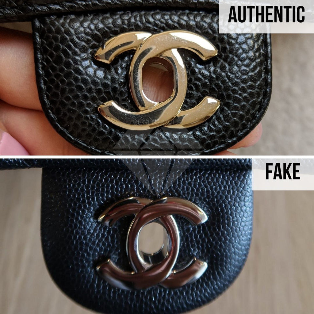 How To Legit Check Chanel Classic Bag: The Buckle Method