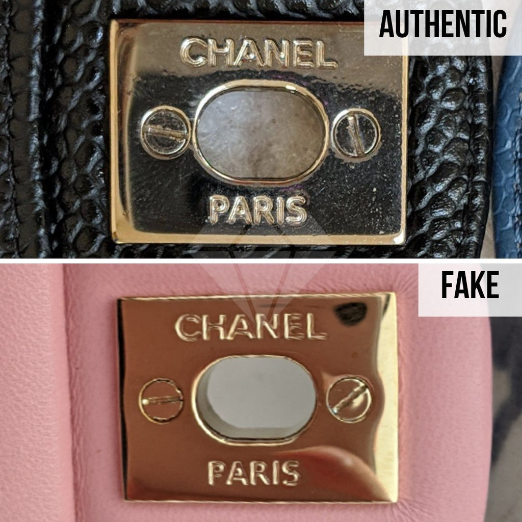 How To Legit Check Chanel Classic Bag: The Hardware Method