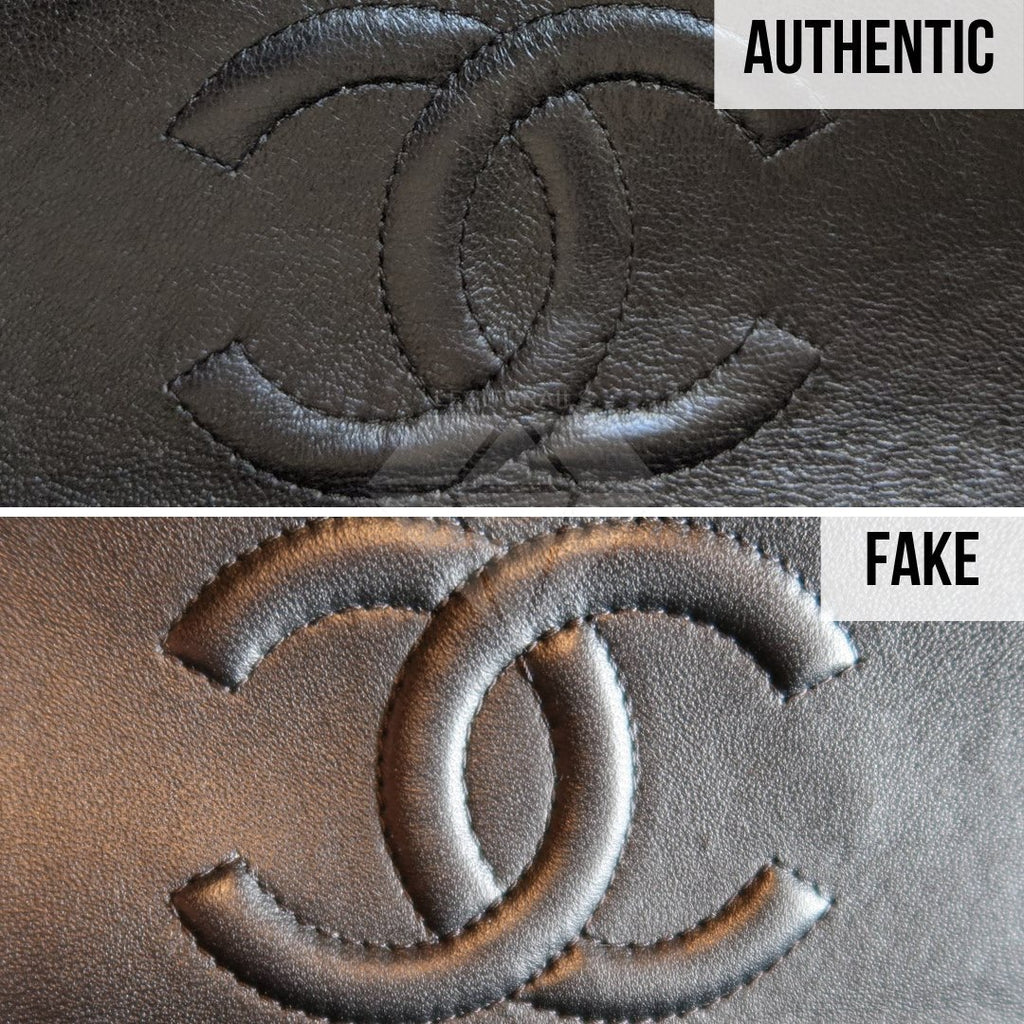 How To Legit Check Chanel Classic Bag: The Logo Method