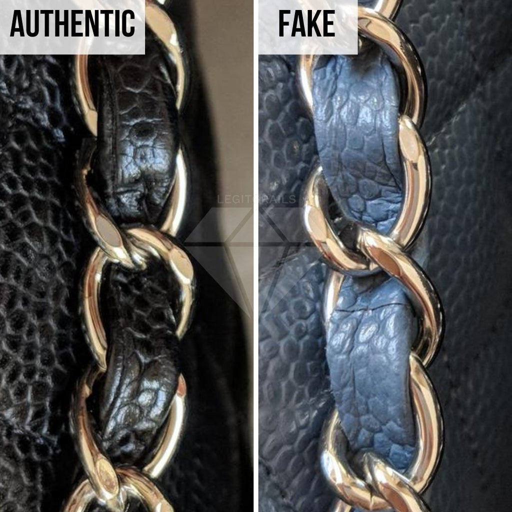 How To Legit Check Chanel Classic Bag: The String Method
