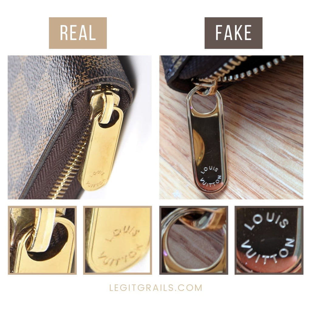 Louis Vuitton Wallet Real Vs Fake