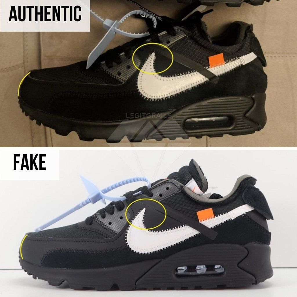 Nike Air Max Off-White 9 Authentication